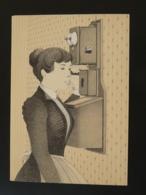 Encart Commemoratif Folder Telephone PTT Suisse 1980 - Télécom