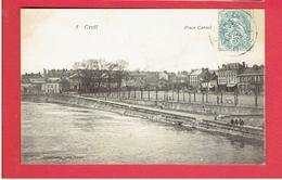CREIL 1905 PLACE CARNOT CARTE EN TRES BON ETAT - Creil