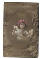 ENFANTS - LITTLE GIRL - MAEDCHEN -Young-Girl-Child Carte Fantaisie  Enfant  Fillette - Portraits