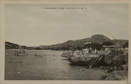 Curaçao (N. W. I.) Oude Kaart Piscadera Club 19?? - Curaçao