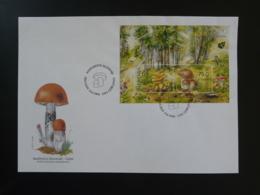 FDC Bloc Champignon Mushroom Slovenia 1996 - Paddestoelen