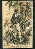 CPA - Illustration Maurice Toussaint - Compagnie De Débarquement, 1844 - Guerre
