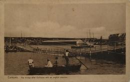Curaçao (N. W. I.) Bridge After Collision With An English Steamer (kaart Beetje Vlekkig) 19?? Zeldzaam - Curaçao
