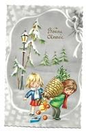 ENFANTS - LITTLE GIRL - MAEDCHEN -Young-Girl-Child Carte Fantaisie  Enfant  Fillette - Scenes & Landscapes