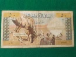 ALGERIA 50 DINARS 1964 - Algeria