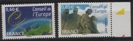 SER 53 - FRANCE Service N° 136/37 Neufs** - Servicio