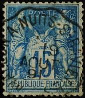 -Sage N°90 Type Ll.(AMBULANT) O. - 1876-1898 Sage (Type II)