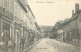 PONTARLIER-grande Rue - Pontarlier