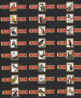 Série De 24 Bagues De Cigares Taf - Oiseaux - Bagues De Cigares