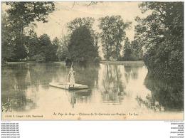 76 CHATEAU DE SAINT-GERMAIN-SUR-EAULNE. Le Passeur Sur Le Lac 1923 - France