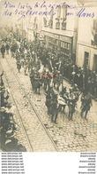 72 LE MANS. Rare Poilus à La Rentrée Des Régiments Au Mans Vers 1918. Maroquinerie Au Bon Accueuil 16 Rue Nationale - Le Mans