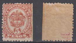 Colombia Mi# 97 * Mint 5 Pesos 1888 - Colombia