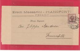 REGNO 097 - Piego A Stampa, Viagg. Nel 1923 Da Pesaro A Pennabilli - Storia Postale