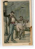 ...Le Coup De Minuit-Arguments Frappants....! ORIGINALE AL 100% D'EPOCA_ - Beauté Féminine D'autrefois < 1920