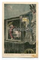...Le Coup De Minuit-Cocher,à L'heure Et Au Pas....! ORIGINALE AL 100% D'EPOCA_ - Beauté Féminine D'autrefois < 1920