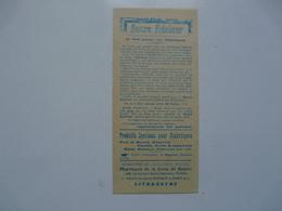 VIEUX PAPIERS - PUBLICITE : Sucre EDULCOR - Advertising