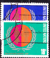 UN New York - Jahr Der Frau (MiNr: 281/2) 1975 - Gest Used Obl - New-York - Siège De L'ONU