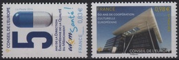 SER 61 - FRANCE Service N° 159/60 Neufs** - Servizio