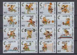 Colombia Mi# 1358-73 ** MNH Sport 1978 - Kolumbien