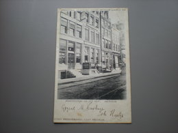 AMSTERDAM - REDACTIEBUREAU HET VOLK - INTERNATIONAAL SOCIALISTISCH CONGRES 1904 - Amsterdam