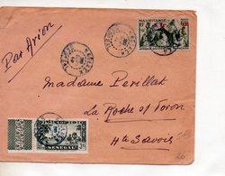 Lettre Au Départ De Kaolack Au Sénégal Vers La Roche S/ Foron En Haute Savoie Du 20 Septembre 1944 - A.O.F. (1934-1959)