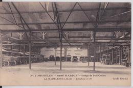 LA MADELEINE-LILLE - Automobiles René Marion Garage Du Près-Catelan Automobile Voiture Camion - La Madeleine