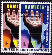 UN New York - Namibi (MiNr: 285/6) 1975 - Gest Used Obl - New-York - Siège De L'ONU