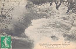 49 - MONTJEAN / INONDATIONS De DECEMBRE 1910 - LA LOIRE A ENVAHI LA LEVEE - Other Municipalities