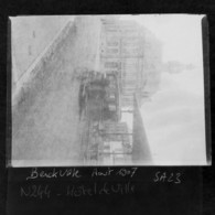 Berck Plage En 1907 ,photo Originale (sur Plaque De Verre) - Berck