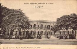 Egypte, Le Caire, Egyptian Barracks At Abdin     (bon Etat) - Suez