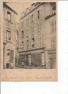 BREST Rue Admiral LINOIS N°8 Popriete Cadeville Photo Ancienne De 25x18 - Brest