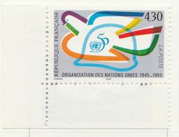 PIA  - FRA -  1995  : Cinquantenario Dell' Organizzazione Delle Nazioni Unite     - (Yv  2975) - Nuovi
