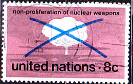 UN New York - Kernwaffensperrvertrag (MiNr: 243) 1972 - Gest Used Obl - New-York - Siège De L'ONU