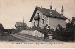 17 LES MATHES   ROUTE D'ARRIVEE A LA PLAGE   BRAUN 191 - Les Mathes