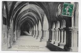 LUXEUIL LES BAINS - CLOITRE DE L' ANCIENNE ABBAYE - BEAU CACHET - CPA VOYAGEE - Luxeuil Les Bains