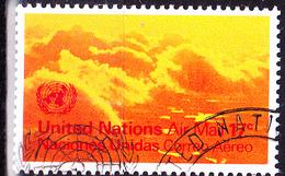 UN New York - Wolkenbildung (MiNr: 247) 1972 - Gest Used Obl - New-York - Siège De L'ONU