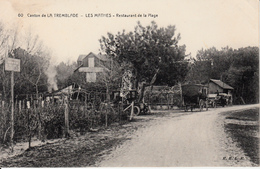 17 LES MATHES  CANTON DE LA TREMBLADE   RESTAURANT DE LA PLAGE - Les Mathes