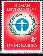 UN New York - Umweltschutzkonferenz Stockholm (MiNr: 249) 1972 - Gest Used Obl - New-York - Siège De L'ONU