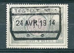 TR 29 Gestempeld TESTELT N° 1 - Bahnwesen