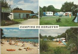 CPM La Foret  Fouesnant  Camping De Kerleven - La Forêt-Fouesnant