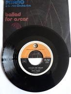 Berto Pisano  -   Dischi Ricordi    Anno 1974.  Idee - Ballad For Oscar - Música De Peliculas