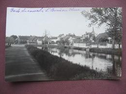 PHOTO VERITABLE Idem CPA 71 SAINT BERAIN SUR DHEUNE Bords Du Canal RARE PHOTO Années 1910 1920 Canton CHAGNY - France