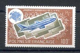 RC 16290 POLYNESIE COTE 31€ PA N° 97 JOURNÉE DE L' U.P.U. AVION COURRIER NEUF ** TB MNH VF - Airmail