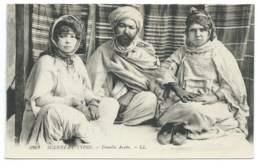 CPA ALGERIE / FAMILLE ARABE / NEUVE - Scenes