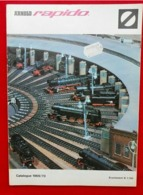 Catalogue 1969/70 Modélisme Ferroviaire- Arnold Rapido - Otras Colecciones