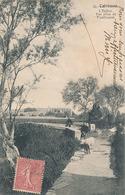 CALVISSON - N°10 - L'EGLISE VUE PRISE DE FOUILLOQUAI - France