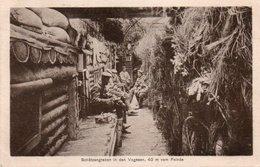 SCHUTZENGRABEN IN DEN VOGESEN-40 M VON FEINDE-MARKIRCH-SAINTE MARIE AUX MINES-68 - War 1914-18