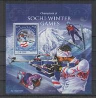 S354. Sierra Leone - MNH - 2016 - Sport - Winter Games - Sochi - Bl - Other