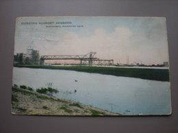 DUISBURG - RUHRORT - HOMBERG - BRUECKENBAU RUHRORTER SEITE - Duisburg