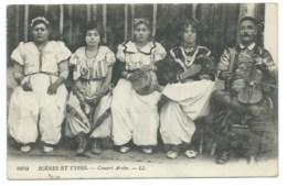 CPA TUNISIE / CONCERT ARABE 1921 - Tunisie